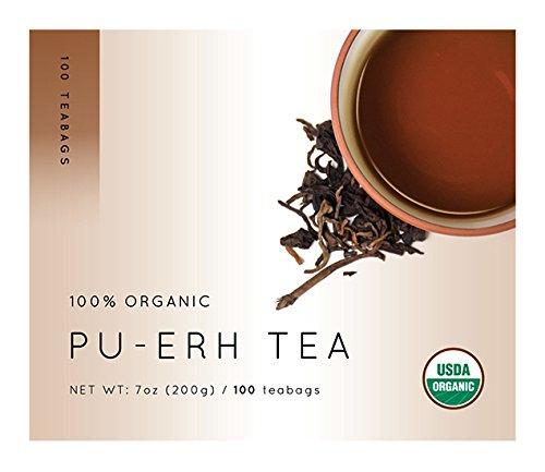 Premium Nannuoshan Pu Erh Tea Value Pack, 100 teabags