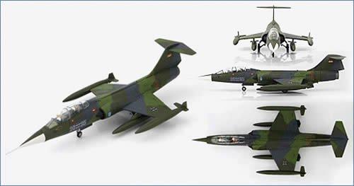 1/72 TF-104Gスターファイター `西ドイツ空軍 28+35` HA1032