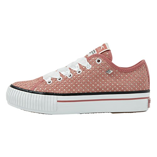 Sneakers Master Rosa British Vecchio Knights Bassa Donne Platform w5y0PS0XqO