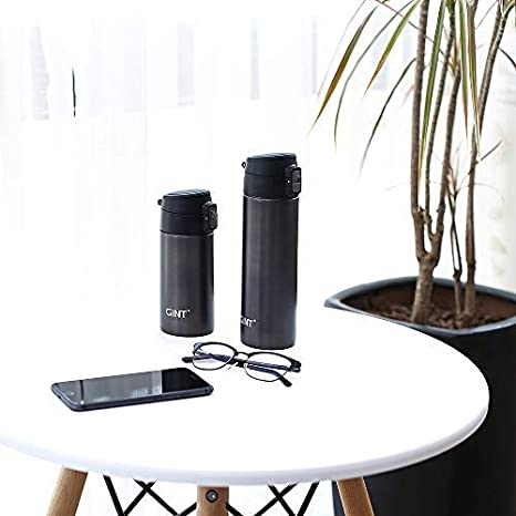 Wide Mouth GiNT Double Wall Vacuum Insulated Stainless Steel Water Bottle//Travel Coffee Mug