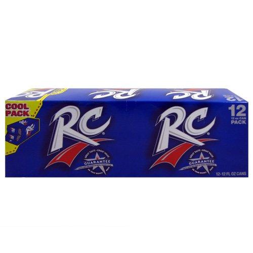 (RC Cola Soda, 12 Ounce (24 Cans) )