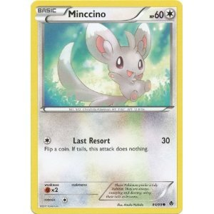 Pokemon Emerging Powers Common Minccino 84/98