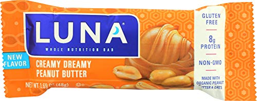 Luna Bar Peanut Butter Creamy (Pack of 6)