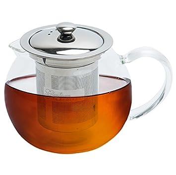 Glenburn Tea Direct Stainless Steel Glass Pot (1000 ml) Dinnerware & Serving Pieces at amazon