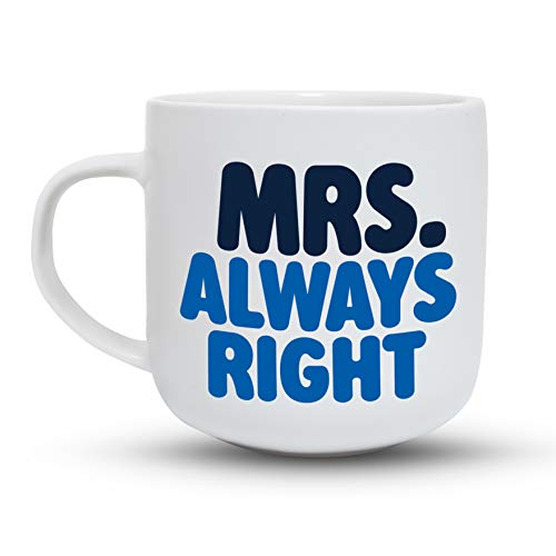4e1c13c2ed Gifffted Mr Right Mrs Always Right Coffee Mugs Set, Funny His and Hers  Couple Marriage Wedding ...