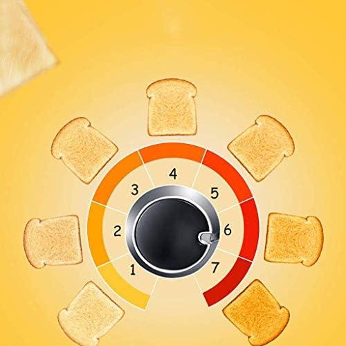 JYDQB Grille-Pain Maison Multifonctions Automatique en Acier Inoxydable 6 Modes de Cuisine de Petit déjeuner avec contrôle Browning