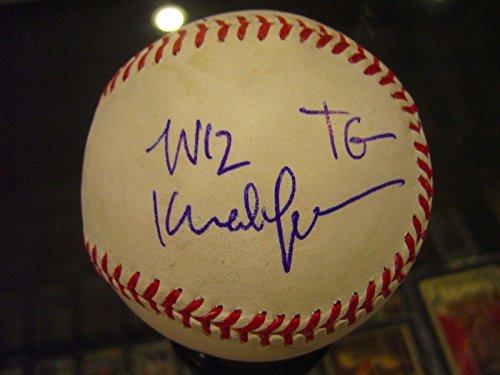 Wiz Khalifa Tony Watson Pittsburgh Pirates Dual Signed Baseball Authenticate - JSA Certified - Autographed - Wiz Shop Khalifa