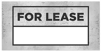 30x20 CGSignLab 5-Pack for Lease Victorian Card Window Cling