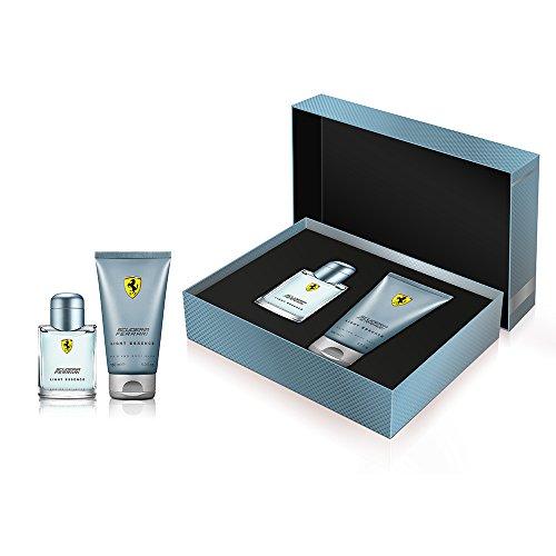 (Ferrari Ferrari Light Essence By Ferrari for Men - 2 Pc Gift Set 2.5oz Edt Spray, 5.0oz Hair & Body Wash, 2count)