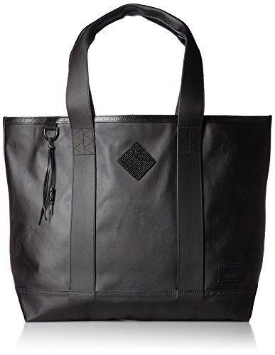 HERSCHEL MABEL TOTE BADHILL WORKSHOP CANVAS NATURAL/LEATHER