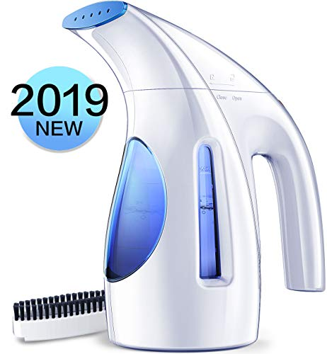 Hilife Steamer for Clothes Steamer, Handheld Clothing Steamer for Garment, 240milliliter Portable Mini Travel Fabric Steamer for Home and Travel