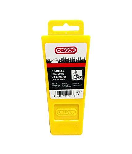 Oregon 559245 Plastic Wedge with Hang Tab, 8', Yellow