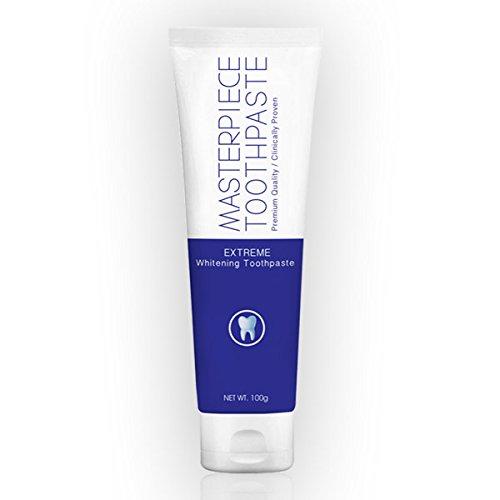 Masterpiece extreme whitening toothpaste 3.33Oz
