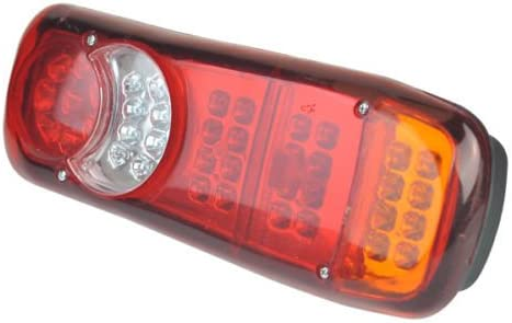 2x 12V Rear Stop 40 LED Lights Tail Indicator Lamps Trailer Truck Tipper Van //