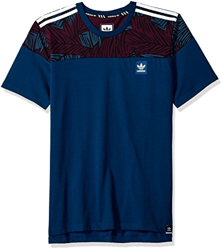 adidas Originals Mens Skateboarding Blackbird Blocktee