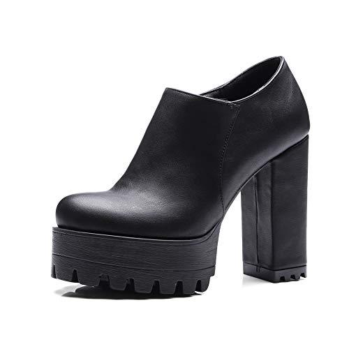 AdeeSu 36 5 Plateforme EU Noir Femme Noir SDC05872 wxwzO1BU