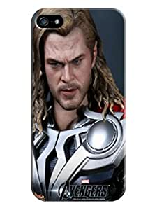 RebeccaMEI OtterBox Chris Hemsworth Thor cool fashionable TPU Series Case for iphone 5/5s - Retail Packaging