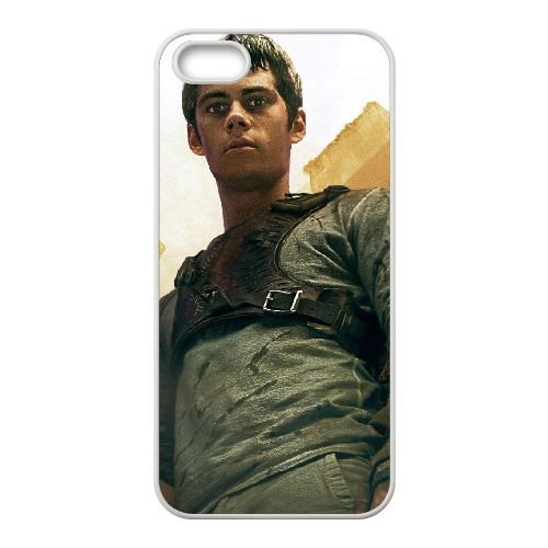 The Maze Runner 3 coque iPhone 4 4S cellulaire cas coque de téléphone cas blanche couverture de téléphone portable EOKXLLNCD20184