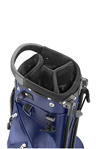 CaddyTek Deluxe Sunday Carry Bag with Stand - Blue by CaddyTek (Image #3)