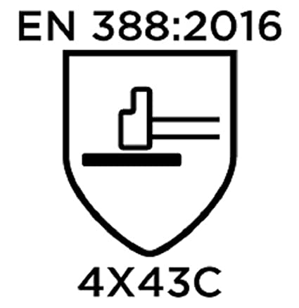 Blanco Ansell 11-735//6 HyFlex Protecci/ón contra Cortes Guante Protecci/ón mec/ánica Tama/ño 6 Bolsa de 12 Pares