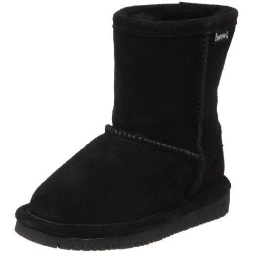 BEARPAW Emma 6.5 Inch Boot ,Black II,2 M US Little Kid