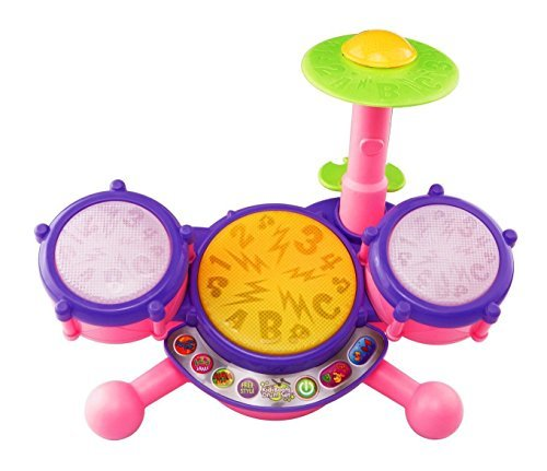 Vtech Kidibeats Pink Exclusive Drum Set Kids Music Girl Toys Toddlers Baby Gift By Baby Musical Toys