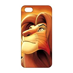 3D Cartoon Lion King For SamSung Galaxy S5 Phone Case Cover