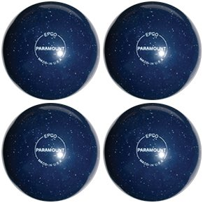 EPCO-Duckpin-Bowling-Ball-Speckled-Houseball-Blue-4-Balls
