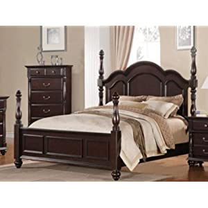 Woodbridge Townsford Panel Bed Size: King