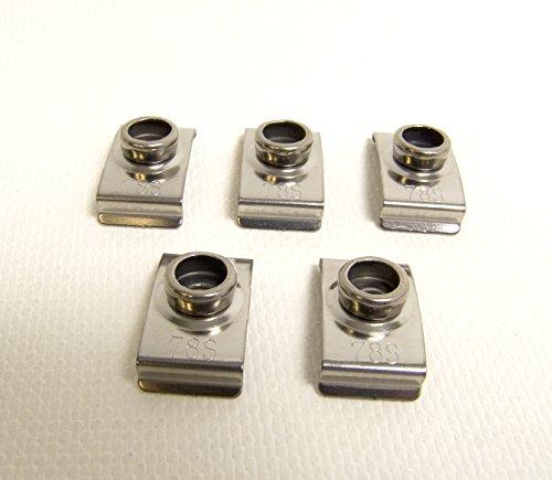 Windshield Clip Stainless Steel Piece