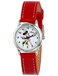Disney Women's Minnie Mouse Dial Strap Watch White MN1023
