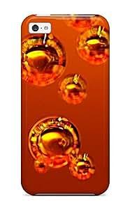 Excellent Design Abstract Orange Bubbles Drinks Phone Case For Iphone 5/5s Premium Tpu Case