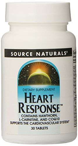 SOURCE NATURALS Heart Response Tablet, 30 Count Review