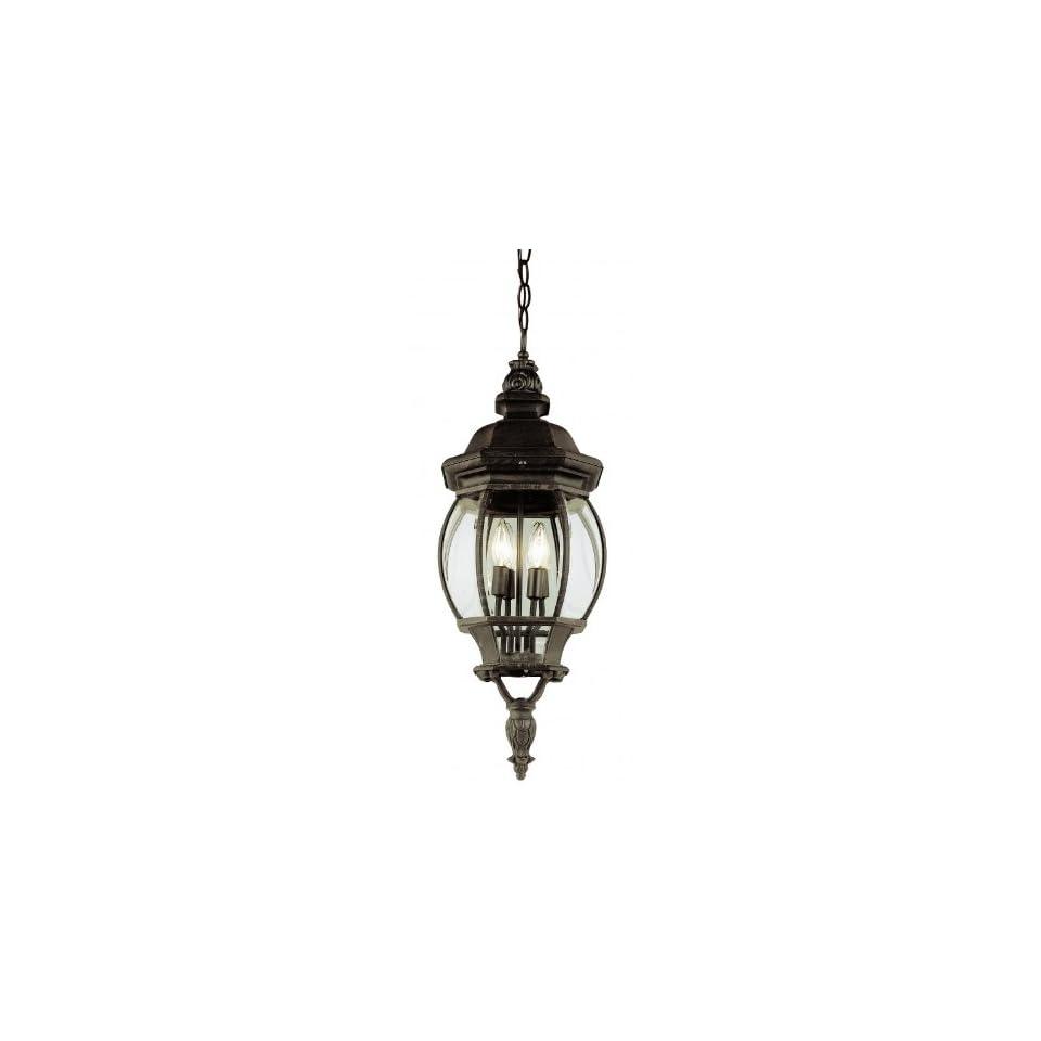 Trans Globe 4067 RT 4 Light Hanging Outdoor Pendant