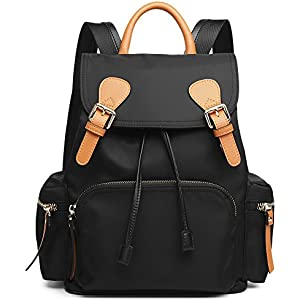 Amazon.com | Backpack Purse for Women Small Canvas Lightweight ...