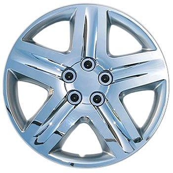Fits 14-16 Dodge Caravan 17' Wheels-4 PC Silver Hubcap Wheel Covers Coast2Coast Int.
