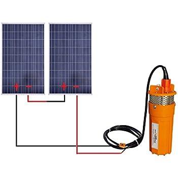 Amazon Com Eco Worthy Solar Water Pump Kit With 24v