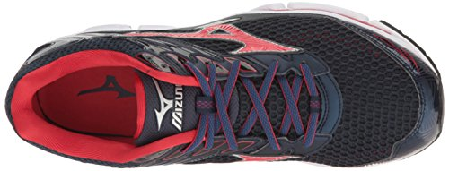 Mizuno Men's Wave Enigma 6 Running Shoe Navy/Red discount cheapest price cheap sale pictures JfTIVbZpR