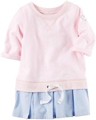 Carter's Girls' Knit Tunic 253g846, Lightpink, 3T (Carters Toddler Knit)