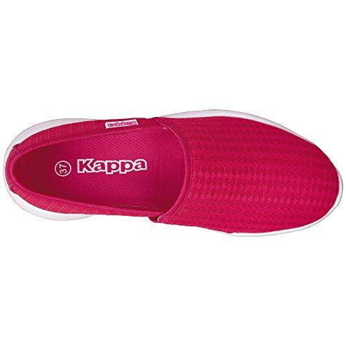 Kappa Cosy, Bailarinas Para Mujer Rosa (Pink/white)