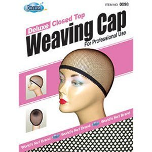 Dream deluxe closed top weave cap pack of 12 #0098