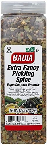 Badia Extra Fancy Pickling Spice, Fragrant mixture of spices, 13 Ounce
