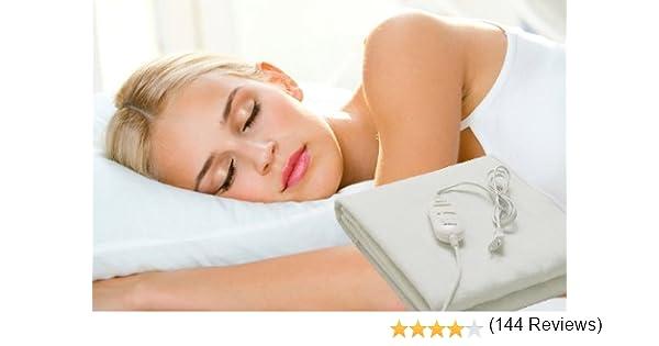 Manta electrica calienta camas 150x80cm 60w selector temperatura ...