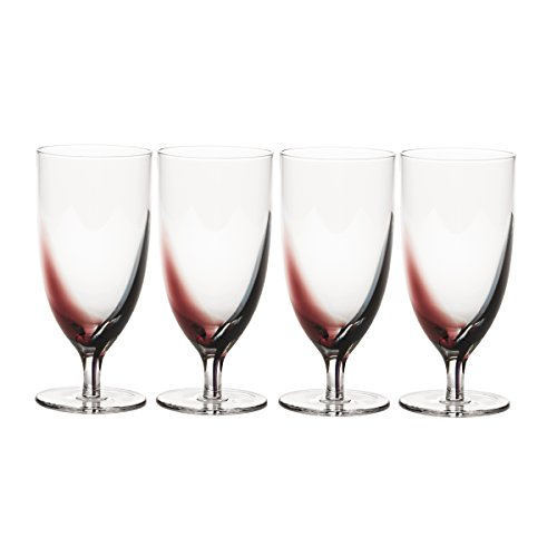 Beverage Luigis Collection (Mikasa Kya Iced Beverage Glass, 16-Ounce, Set of 4)