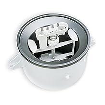 KitchenAid KICA0WH 2 Quart Ice Cream Maker Stand Mixer Attachment KitchenAid *Service#e_pier HLJDOFS54217567