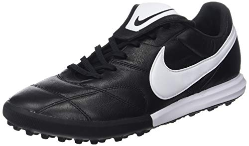 Nike Men's Soccer Premier II Turf Shoes (10.5 M US) Black/White