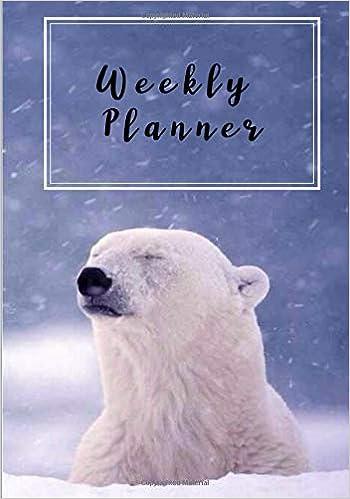 Weekly Planner: Planner|Calendar|Datebook|Agenda|2019|365 ...