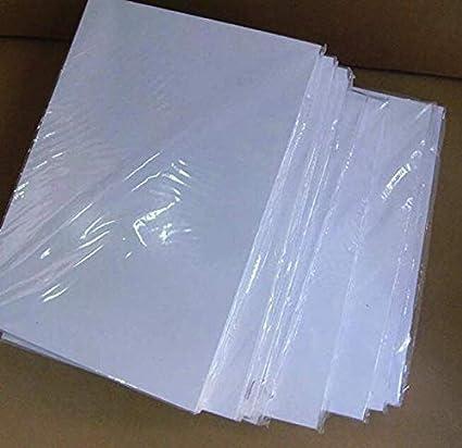 Waterslide calcomanía de papel transparente con láser, 20 ...