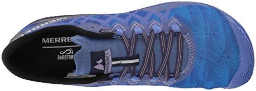 Vapor baja Blu Running Glove Blue 3 Donna Scarpe Merrell OwdAqUO