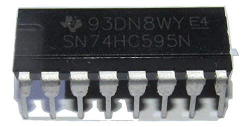 SN74HC595 74HC595 74HC595N 8-Bit Shift Registers With 3-State Output Registers DIP16 6 Pack